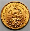 ESTADOS UNIDOS MEXICANOS 1955 CINCO PESOS GOLD COIN